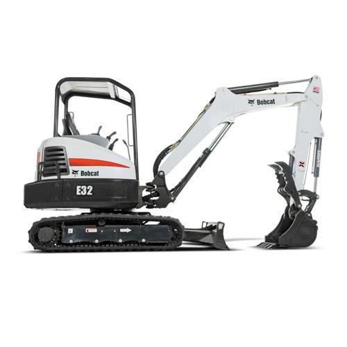 Bobcat E32 excavator - sales, rentals, South Africa