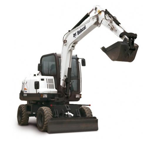 Bobcat E55W excavator - sales, rentals, South Africa
